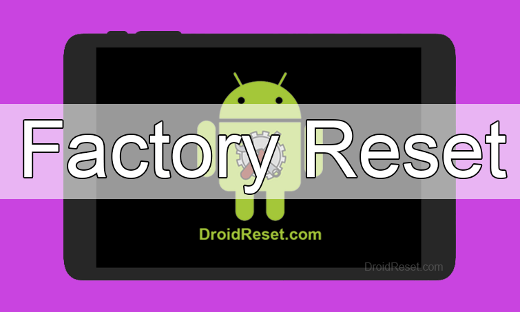Acer Iconia One 10 B3-A50 Factory Reset