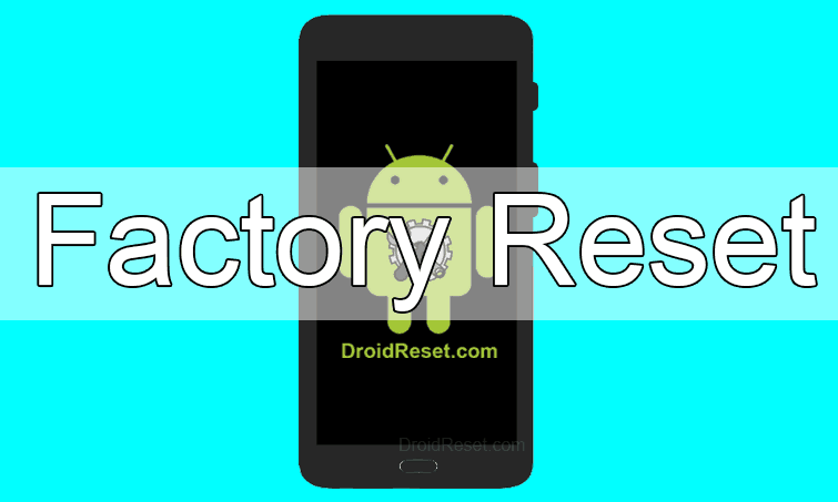 Alcatel Pop 4 Factory Reset