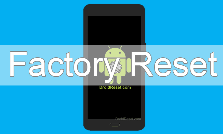 Fly Evo Energy 3 Factory Reset