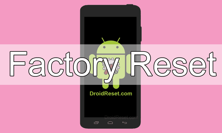Manta MS4501 Quad Galactic Factory Reset