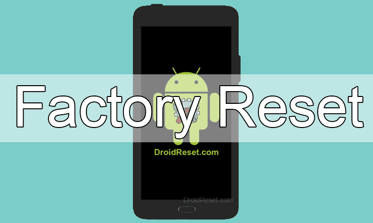 Alcatel T-Mobile Move Factory Reset