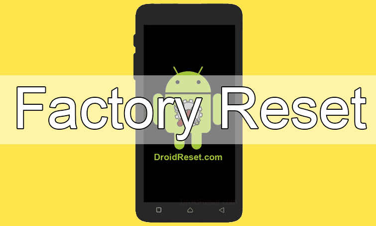 Advan S3D Factory Reset