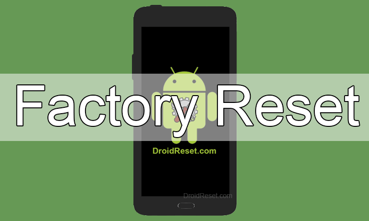 Alcatel 4015D 4016D Factory Reset